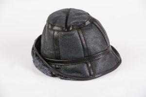 Maciaszek skórzana czapka 002