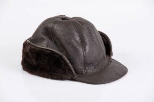 Maciaszek skórzana czapka 004