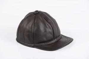 Maciaszek skórzana czapka 005